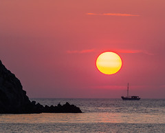Sunset Sailing ( Limnos - Greece) (Olympus OM-D EM1-II & M.Zuiko 40-150mm f2.8 with MC14 Teleconverter) (1 of 1) (markdbaynham) Tags: greece greek hellas hellenic greekisland grecia greka myrina myrinatown gr sunset settingsun sun colour sea ship boat sailing view landscape greekholiday olympus olympusomd omd olympusgreece olympusem1 olympusprolens mft m43 mirrorless evil csc microfourthird microfourthirds m43rd 40150mm f28 zoom telephoto micro43 micro43rd em1 em1mk2 em1ii mzd mz zd zuikolic mzuiko mc14 teleconverter northaegean aegean aegeanisland northaegeanisland travel europe greeceaegean olympusmft em1mark2