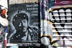 Quartier de Belleville - La rue Dénoyez 2 (T.Oscar) Tags: tag street art urban graffiti peinture graff paris france french paint hip hop belleville 19ème xixème 19 xix rue dénoyez denoyez matoub lounes