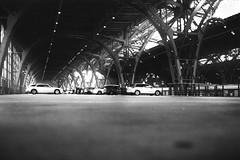 parking (flyerkat_L.E.) Tags: parking spot car central station leipzig city film analoge superpan200 nikon fm2 35mm