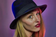 Paige-203.jpg (TheRealVasir) Tags: woman indoors portrait model people kitchener gel studiolight