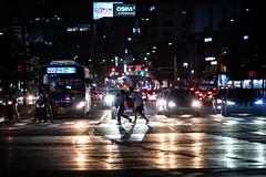 Allons-y! (batandbun) Tags: seoul korea streetphotography street traffic lights run