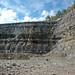 Pottsville Group over Maxville Limestone (East Fultonham Pit, Muskingum County, Ohio, USA) 5