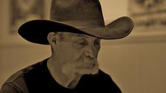 Jeff (Cowboy Mode) (Tim @ Photovisions) Tags: hat cowboy people nebraska portrait xt2 fuji fujifilm