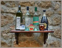 Spezialitäten - specialties (Körnchen59) Tags: spezialitäten specialties wein öl grappa pesto nahrung toskana pienza italien italy körnchen59 elke körner