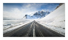 Icy RR1 North Of Höfn (W.Utsch) Tags: landscape leica iceland ice snow mountain road rr1 mediumformat stich panorama winter