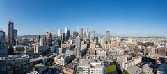 Downtown LA Skyline From AVEN (HunterKerhart.com) Tags: 1120sgrand aven losangeles la