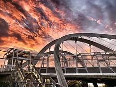 Wembley Park Station #london #WCX #Wembley #sunrise #clouds #bridge #railway #wembleypark (taylor.timtaylor) Tags: london wcx wembley sunrise clouds bridge railway wembleypark