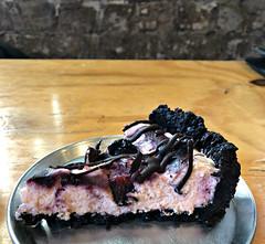 2018 Sydney: The Pie Tin, Newtown (dominotic) Tags: 2018 food dessert chocolate cherryripepie yᑌᗰᗰy iphone8 thepietinnewtown dessertpie macro sydney australia
