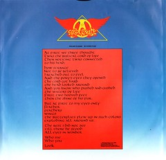 9 - Aerosmith - Rock In A Hard Place - NL - 1982- (Affendaddy) Tags: vinylalbums aerosmith cbs steventyler joeperry 20thcenturyushardrock collectionklaushiltscher