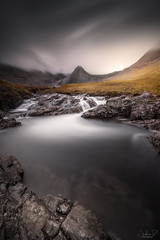 The Fairy Pools, Isle of Skye (jesbert) Tags: fairy pool isle skye scotland highlands clouds mountain waterfall water rocks jesbert rodriguez sony a7r2 carl zeiss