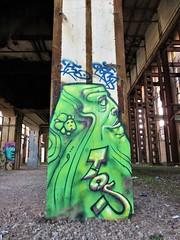 Ler / Langerbrugge - 5 okt 2018 (Ferdinand 'Ferre' Feys) Tags: gent ghent gand belgium belgique belgië streetart artdelarue graffitiart graffiti graff urbanart urbanarte arteurbano ferdinandfeys ler