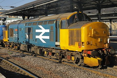 37403 3S77 (Rob390029) Tags: drs direct rail services br british class 37 37403 newcastle central railway station ncl ecml east coast mainline