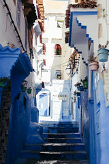 blue city (rick.onorato) Tags: morocco desert arab berber north africa blue city alley