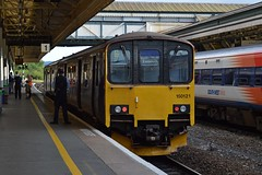 150121, Exeter St David's (JH Stokes) Tags: class150 gwr greatwesternrailway exeterstdavids devon dmu dieselmultipleunits sprinters 150121 trains t trainspotting tracks transport railways photography publictransport