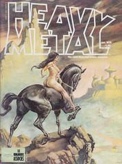 Heavy Metal Magazine #v1#10 (micky the pixel) Tags: comics comic heft magazin magazine sf scifi sciencefiction metalhurlant leshumanoidesassocies heavymetal valmayerik fantasy amazone