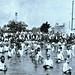 Bath time for German POWs in swimming pool at Camp Garnet, Marseilles, France  Aug. 17, 1918 NARA111-SC-021661-ac
