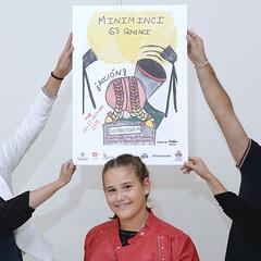 #63Seminci - Laura Vallinas y el cartel de Miniminci 2018 (SEMINCI) Tags: seminci valladolid cine
