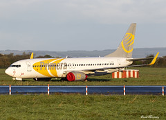 GECAS (Primera Air Nordic) 737-800 YL-PSC (birrlad) Tags: shannon snn international airport ireland aircraft aviation airplane airplanes airline airliner airlines airways parked apron ramp return lessor lease ex primeraair boeing b737 b738 737 737800 73786n ylpsc primeraairnordic gecas storage stored sunlight morning sunrise