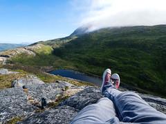Gamvikelva Summer 2018 (Paul und Lotte) Tags: norwegen norge norway landschaft landscape me gamvikelva klettern bergwandern senya