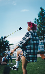 jamila. (lichtermusik) Tags: model punk emo flannel berne hair
