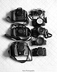 DSC_5225 BW (C&C52) Tags: appareilsphoto photoargentique vintage collector noiretblanc monochrome