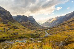 Three Sisters of Glencoe (ESM Photographics) Tags: 2018 a82 aonachdubh beinnfhada coe gearraonach glencoe highlands leelandscapepolarisation leend06hardgarde ralstoncairn schotland scotland scottishhighlands thelee100mmfiltersystem thepassofglencoe threesistersofglencoe autumn clouds fall glenn grass hill hills landscape mountains river rivercoe rocks sky stream sunlight trees water waterfall