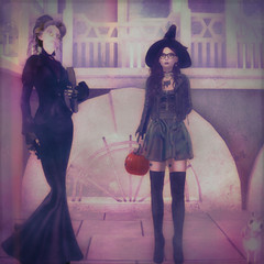 I Caught a Stein (Alchemal Art) Tags: halloween drd stein reanimator sl second life witch pumpkin trick or treat