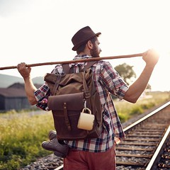 One summer day our backpack became a part of photo shoot for Slovak folk band @fs_zivel . So sunny and nice pics☺️. Photo: @matuslago . ⠀⠀⠀⠀⠀⠀⠀⠀⠀ #sunset #folk #handmade #waxedcanvas #slovakia #travelbag #innesbags #everydayadventures #ourdoor #men (Sergey Kutsenko) Tags: innesbags handmade etsyshop etsy backpack bag
