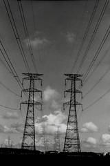 Energy lines (shou yokoya) Tags: sky clouds film 135 35㎜ nikon nikkor 28f28 nikonfm acros analogue monochrome