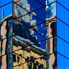 Minneapolis Reflections (David M Strom) Tags: olympusem1markii skyscraper minneapolis reflections architecture minimal windows olympus40150 abstract davidstrom
