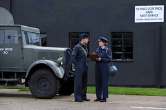 'Flying Control' (andrew_@oxford) Tags: raf east kirkby lincolnshire aviation heritage centre flying control royal air force 1940s reenactors reenactment