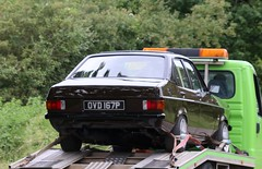 OVD 167P (Nivek.Old.Gold) Tags: 1976 ford escort ghia 13 4door mk2