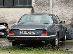 1980 Jaguar Xj6 4.2 Sovereign (Alessio3373) Tags: auto cars oldcars classiccars autoshite youngtimers abandoned abandonedcars autoabbandonate unused unloved neglected forgotten forgottencars jaguar jaguarxj6 jaguarxj642