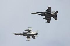F-18 del Ala 12 (Ejército del Aire Ministerio de Defensa España) Tags: avión aviación aviation plane airplane airforce fuerzaaérea ejércitodelaire spanishairforce baseaérea torrejón cielo nubes ala12 f18 fighter