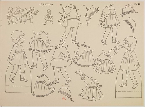 French Paper Doll 5