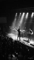 Coma (januszjanusz208) Tags: red bw black white koncert concert rock metal poland coma katowice portfolio portrait dance