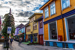 Øvre Holmegate - The Colourful Street - Stavanger - Norway (Melvin Debono) Tags: stavanger is city municipality norway it third largest metropolitan area administrative centre rogaland county melvin debono canon 600d 18135mm photography travel building colours colour colored house houses shop shops street colourful streets color øvre holmegate the a known locally fargegaten which translates where all buildings have been painted fresh vibrant