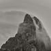 Cloud Flow Over Mountain Top