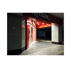 light corner (chrisinplymouth) Tags: shop night pavement ground street corner plymouth devon england uk city cw69x explored inexplore desx diagx plymgrp tkmax diagonal
