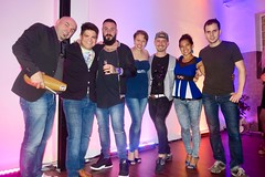 "Friday salsa party at On Stage with the Munich crew.  Germany  Oct 2018 #itravelanddance • <a style=""font-size:0.8em;"" href=""http://www.flickr.com/photos/147943715@N05/45601373101/"" target=""_blank"">View on Flickr</a>"