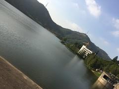 Reservoir on STU Campus (hinxlinx) Tags: reservoir water campus shantou