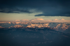 flying europe III (Rasande Tyskar) Tags: aerial luftbild flugzeug above from mountain alps alpen plane airplane window seat france frankreich europe jura mountains berge sky wolken himmel