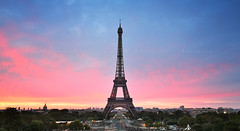 P A R I S (FredConcha) Tags: paris eiffeltower city fredconcha sunrise d800 cityscape