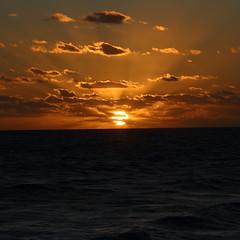 SUNRISE (R. D. SMITH) Tags: sunrise atlanticocean canoneos7d ocean water morning sun clouds dawn crop squareformat
