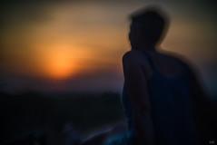 farewell to summer (*altglas*) Tags: sunset summer evening goodbye farewell mood bokeh flou xraylens rodenstock modifiedlens