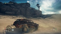 Mad Max_20180924235036 (Livid Lazan) Tags: mad max videogame playstation 4 ps4 pro warner brothers war boys dystopia australia desert wasteland sand dune rock valley hills violence motor car automobile death race brawl scenery wallpaper drive sky cloud action adventure divine outback gasoline guzzoline