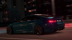BMW M3 (Sky Infinity) Tags: forza horizon 3 screenshot xbox one bmw m3 ford gt car automobile voiture night festival