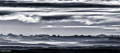 Ondulations alpestres (paul.porral) Tags: ciel paysage landscape mountains alps alpes naturephotography hill hiking cielo sky nature natur light clouds landschaft ngc flickr groupenuagesetciel suisse switzerland panorama