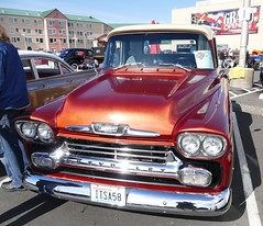 Chevrolet Apache (bballchico) Tags: chevrolet apache pickuptruck carshow shownshineattheshores
