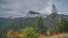 The Sky is Falling (writing with light 2422 (Not Pro)) Tags: mountrainiernationalpark mrnp mountrainier volcano stratovolcano clouds mist fog washingtonstate winter fall moody richborder landscape sonya7